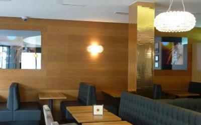 Décoration d'intérieur du Café de Paris à Deauville (Calvados – 14)