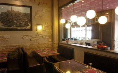 Décoration intérieure à Caen – Agencement du Restaurant italien La Storia