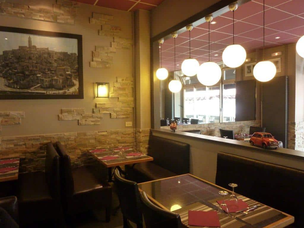 d coration int rieure caen agencement du restaurant italien la storia b d coration. Black Bedroom Furniture Sets. Home Design Ideas