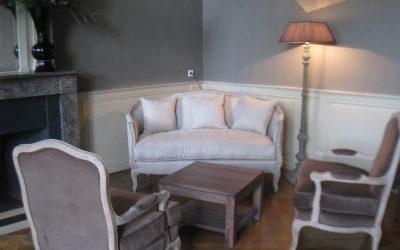 Décoration d'intérieur & agencement de l'hôtel Périer du Bignon à Laval (Mayenne)