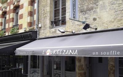 Décoration d'intérieur restaurant Aurelzana Caen (14)