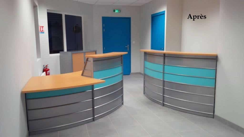 Aménagement de l'Accueil et mobilier de bureau