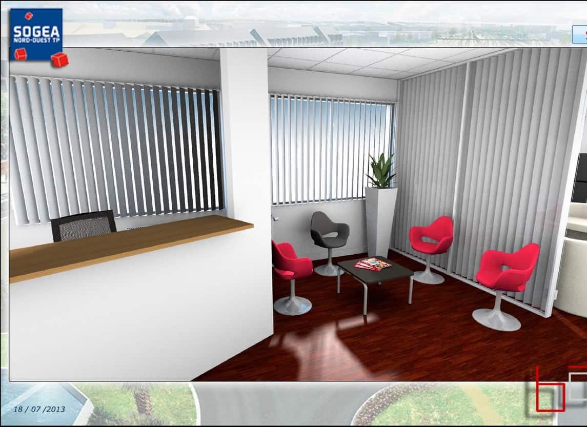 Agencement, aménagement de cuisines - visuels 3D - Aquila - Blanc & Noir  - Caen (Calvados-14) en Normandie