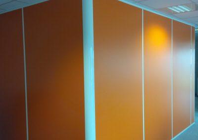 Mobilier bureau, cloisons modulaires pour une agence d'intérim à Caen (Calvados - 14) en Normandie