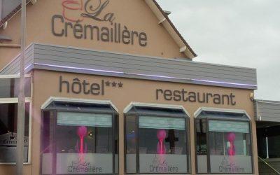 Décoration d'intérieur hôtel-restaurant La Crémaillère à Courseulles sur mer