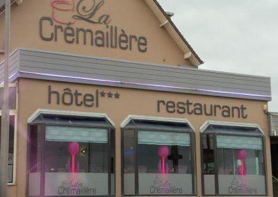 décoration intérieure hôtel restaurant à Courseulles sur mer (14-Calvados en Normandie)