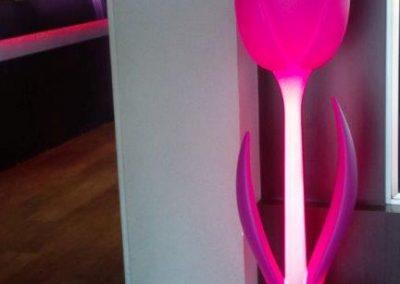 luminaires tulip décoration lumineuse restaurant