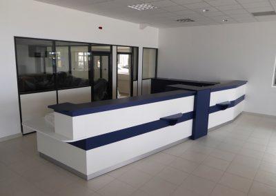 Banque d'accueil bureau - Garage Peugeot - Viller Bocages - Calvados 14 en Normandie