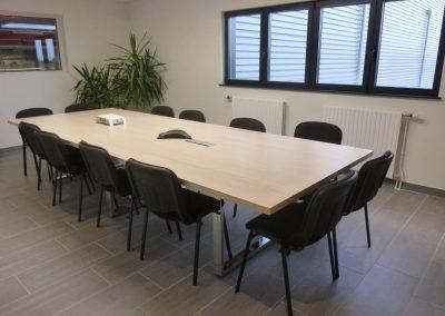 Agencement et aménagement - salle de réunion (Orne en Normandie)