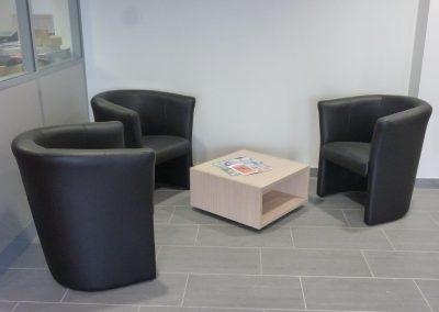 Agencement de bureau - salle d'attente -salle de pause (Orne en Normandie)