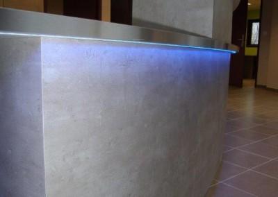 banque-accueil-integracion-eclairage-led-manche-basse-normandie