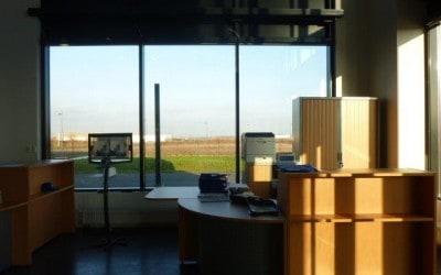 Aménagement & Équipement en mobilier de l'accueil & de la réception d'une société à Caen