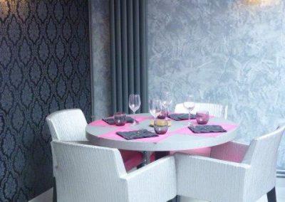Appliques murales restaurant à Cabourg (Calvados - 14 en Normandie) (fauteuils, tables et banquettes non fournies par BÔ)