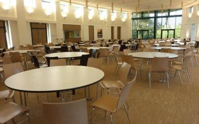 Aménagement & Équipement pour la Salle des banquets La Comète à Bayeux