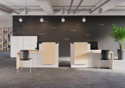 Banque d'accueil - Caen (Calvados-14) en Normandie