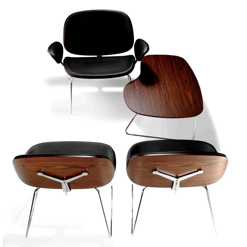 """Chaise design """"Blob Parri"""" Calvados-14 (Normandie)"""