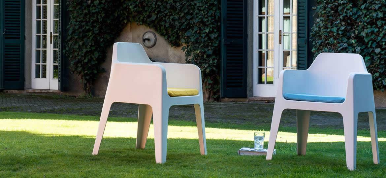 """Fauteuils design """"Ambientata Low Pedrali"""" Calvados-14 (Normandie)"""
