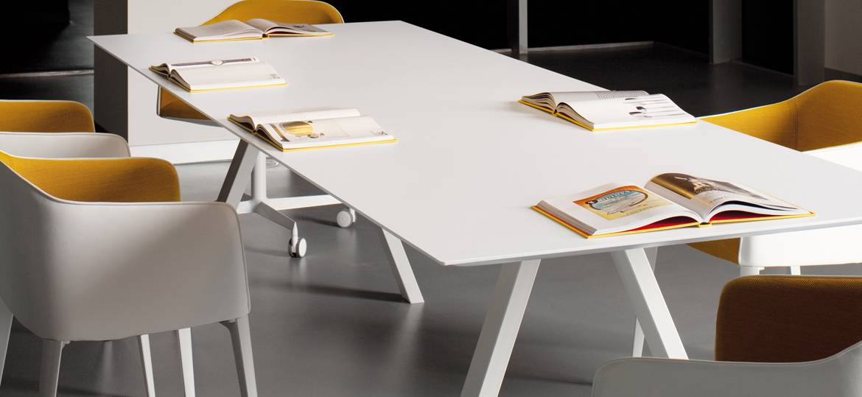 Mobilier salle de réunion - Caen (Calvados-14 en Normandie) ARK200x100 CFC BI