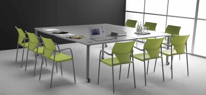 Mobilier salle de réunion - Table de conférence - Caen (Calvados-14 en Normandie) AMBIAN-4