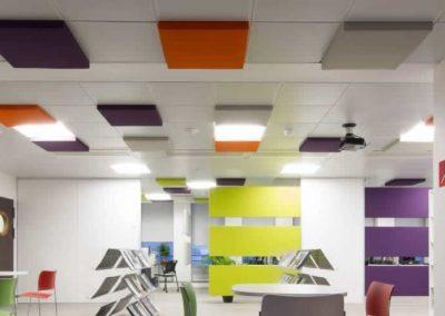 panneaux acoustiques plafond différentes couleurs Calvados-14 (Normandie)