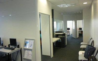 Étude d'aménagement, implantation des nouveaux locaux Groupe AKSIS à Caen