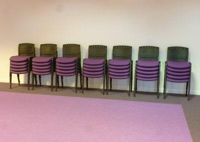 Aménagement - agencement en mobilier salle de réunion, conférences ou formation