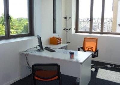 Aménagement et mobilier d'un bureau à Caen (après les travaux)