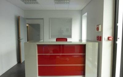Aménagement en mobilier de bureau – Direction Régionale du Groupe Eiffage à Cherbourg