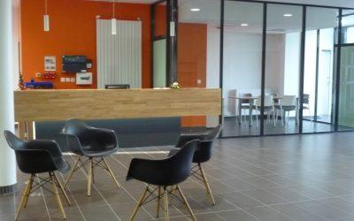 Aménagement & équipement en mobilier des nouveaux locaux Actalia à Saint-LÔ (50)
