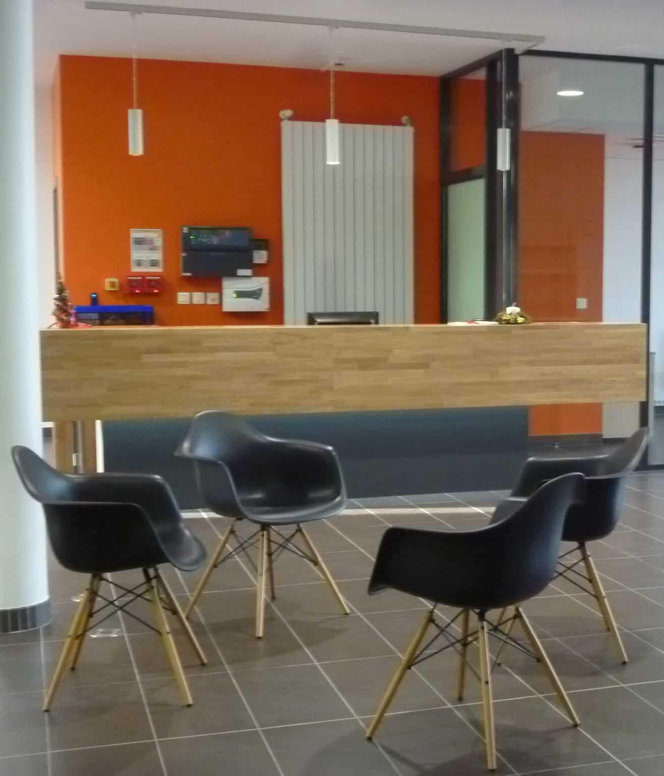 Agencement mobilier d'accueil bureaux (Saint LÔ (Manche - 50) en Normandie)