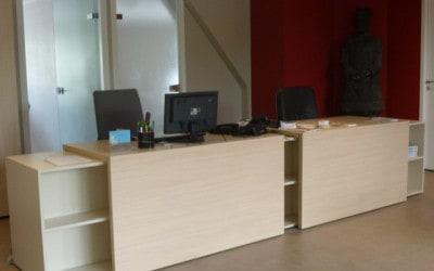 Comptoir d'accueil du Cabinet d'Experts Comptables «Basic Compta» à Caen