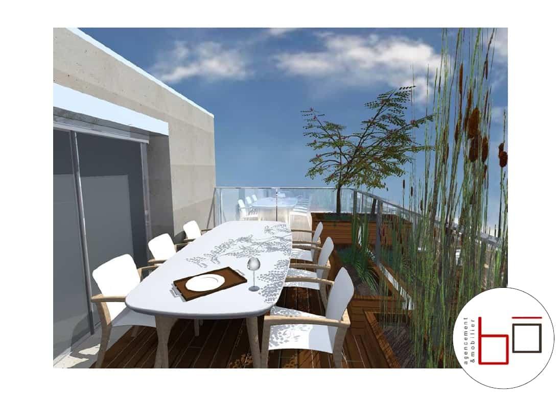 Avant projet visuels 3d terrasse particulier for Projet terrasse en 3d