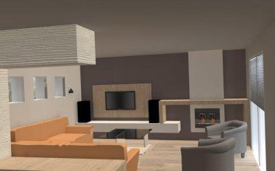 Agencement et aménagement d'une résidence d'habitation (Caen – Calvados 14) en Normandie
