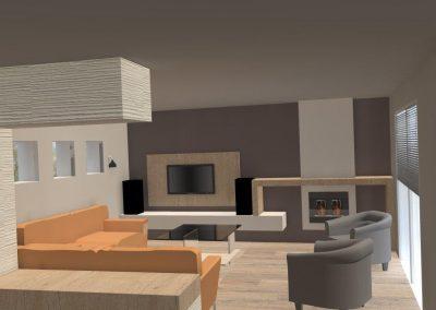 Agencement et aménagement d'une maison d'un particulier (Caen - Calvados 14) en Normandie