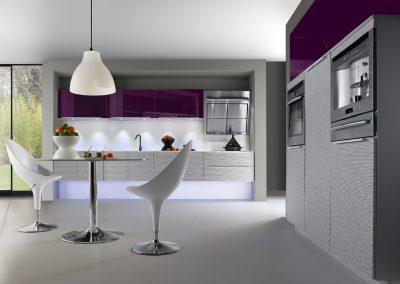 Agencement, aménagement de cuisines - visuels 3D - modèle Safari - Caen (Calvados-14) en Normandie