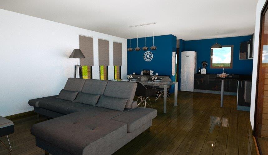 Agencement extérieur & intérieur d\'une résidence d\'habitation à Caen ...