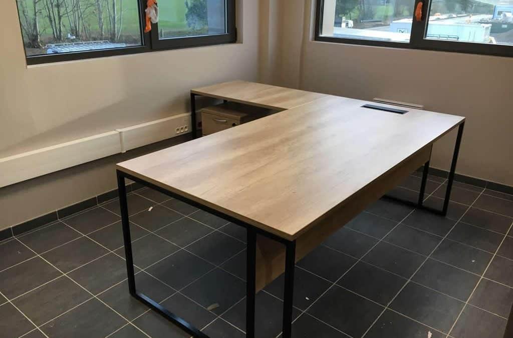 Aménagement & équipement en mobilier de bureau pour Intermarché à Domfront dans l'Orne