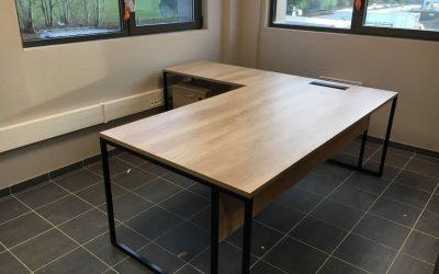 Aménagement et équipement en mobilier de bureau pour Intermarché à Domfront dans l'Orne