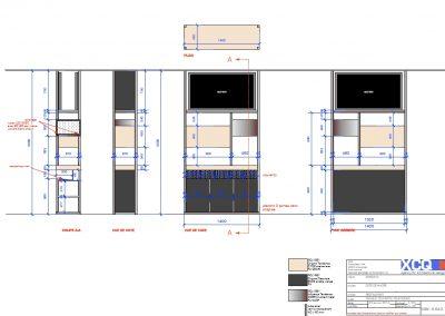 Exemple de documentation avant projet Agencement et mobilier d'un restaurant à Caen (Calvados - 14) en Normandie
