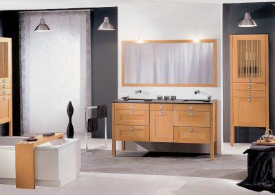 """Agencement et mobilier de salle de bain """"Boston"""" - Caen (Calvados-14) en Normandie"""