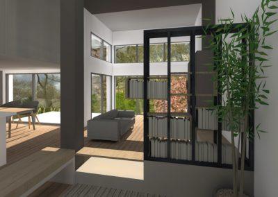 Agencement et aménagement d'une maison privée (visuels 3D) Caen - Calvados - 14 en Normandie