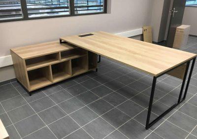 Agencement et équipement en mobilier de bureau à Domfront (Orne - 61) en Normandie