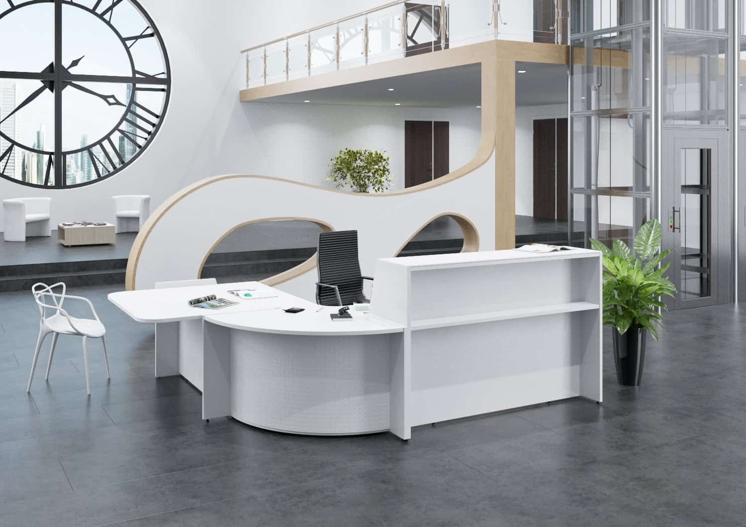 Mobilier de bureau op rative for Bureau accueil