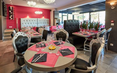 Agencement du restaurant Casserole & Bouchons à Caen