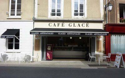 Agencement de Commerces, Café Glacé à Bayeux (Calvados – 14) en Normandie