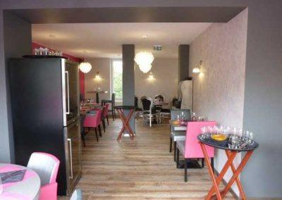 Agencement d'un restaurant à Ouistreham (Caen la mer) - Équipement mobilier restaurant