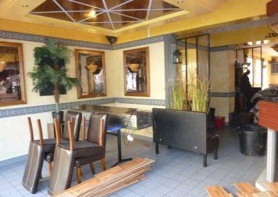 Avant Travaux restaurant à Ouistreham (Caen la mer) - Salle
