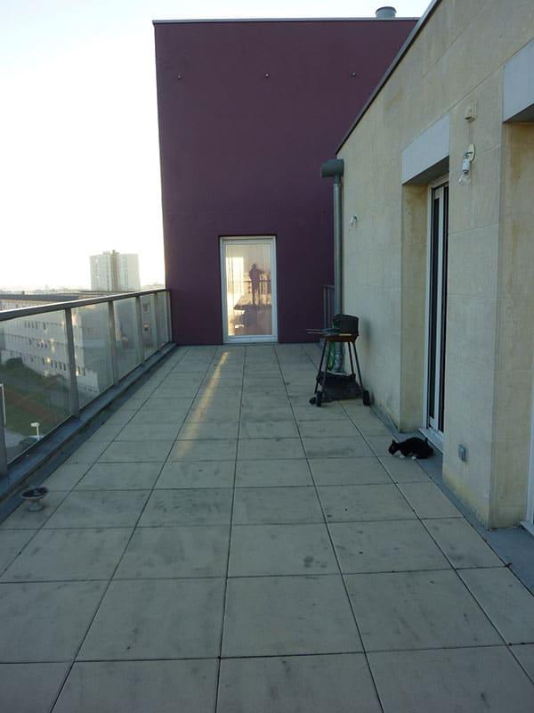 relooking d 39 une terrasse d 39 appartement h rouville pr s de caen. Black Bedroom Furniture Sets. Home Design Ideas