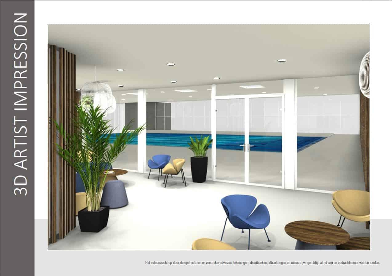 Decoratrice D Interieur Amiens projet étude aménagements intérieurs centre aquatique d'amiens