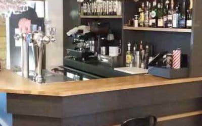 Relooking et décoration d'intérieur bar à tapas à Bayeux